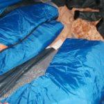 極寒の2月サーフキャンプ 2日目