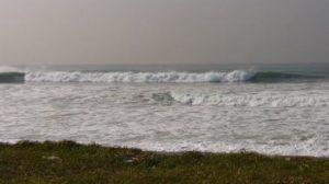 台風18号のグランドスウェル