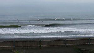 台風22号の余波