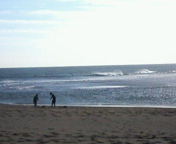 木崎浜到着