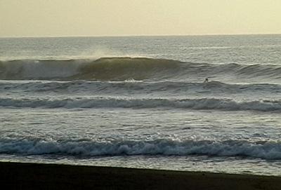 千葉は朝はいい波