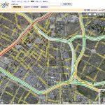 Google Mapsで渋滞状況チェック