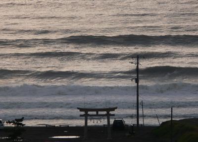 千葉でサーフィン2日目