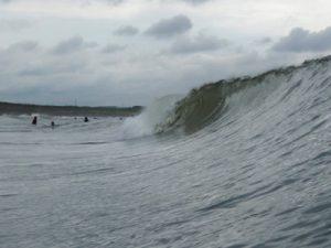 昨日より良い波だった