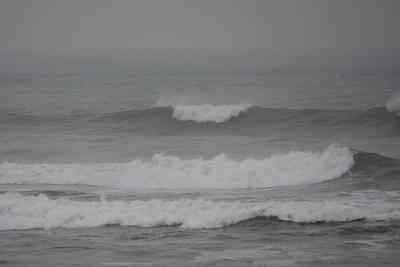 分からされたね、茨城の波に