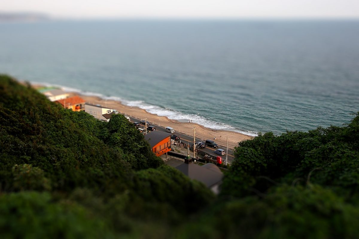 Tilt-Shift in Kamakura