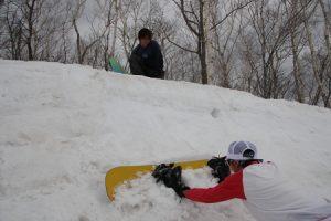 毎年恒例!春のスノーサーフセッション