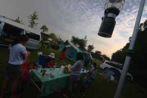 2010年9月の茨城キャンプ2日目
