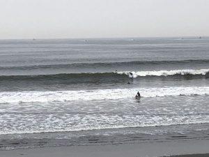 茨城みたいに人が少ない茅ヶ崎でサンデーサーフィン