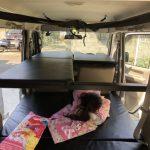 軽自動車用の二段ベッドキット「旅らく」を徹底レビュー